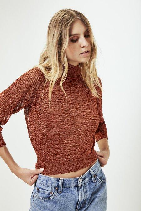 Mila Zovko Joni Sweater in Copper