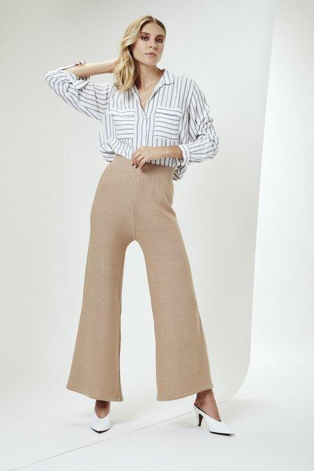 Mila Zovko Solange Pants in Oatmeal