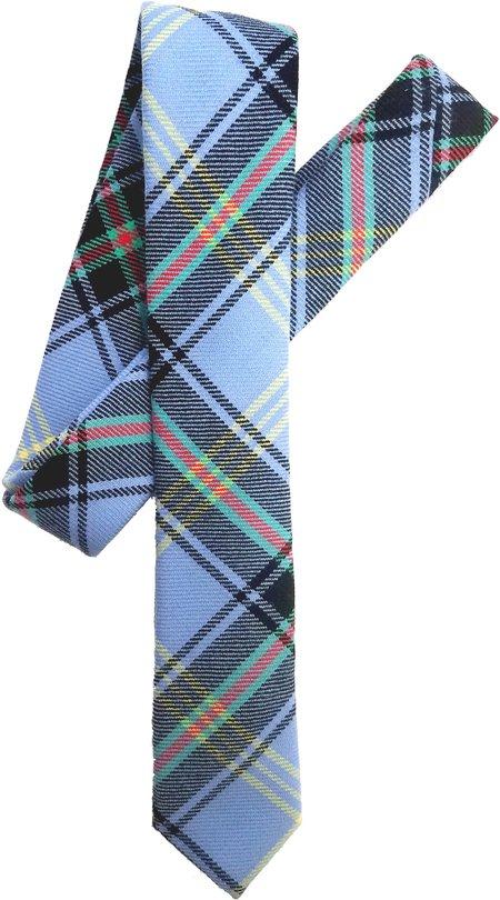 David Hart Bluebell Tartan Tie