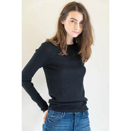 360 Cashmere Elena Sweater in Black