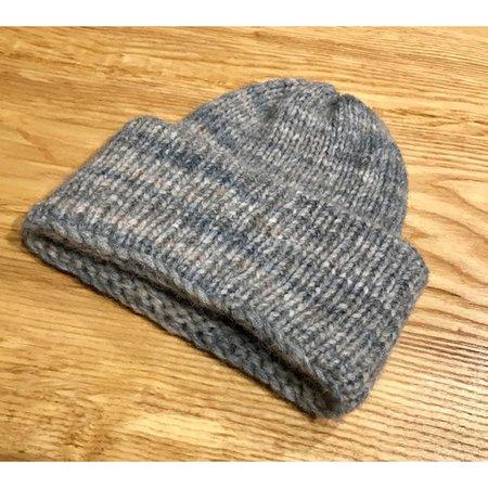 Reinhard Plank Toad Wool Hat in Grey Melange