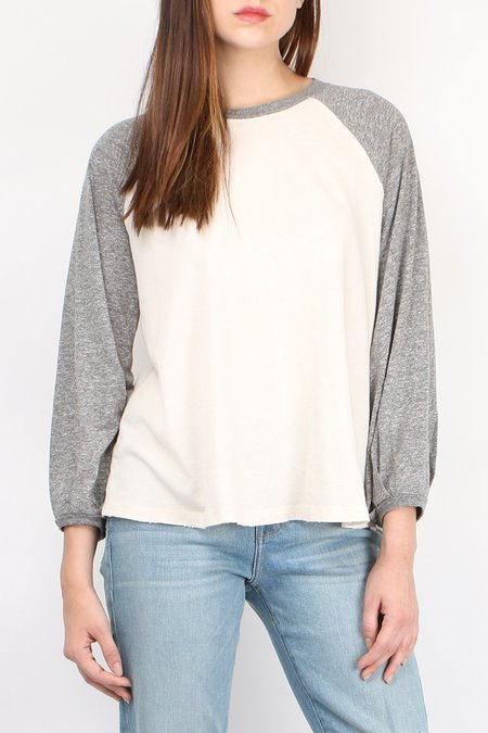 the great The Blouson Baseball Tee