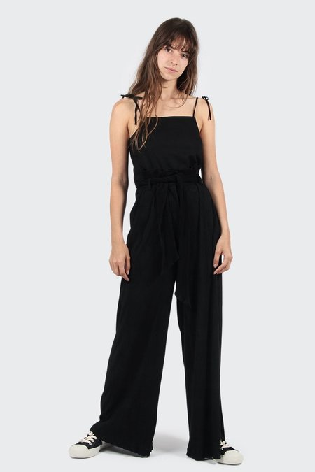 Native Youth Aurelius Wide Leg Pants - Black