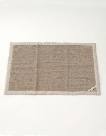 Fog Linen Work Linen Massage Bath Mat