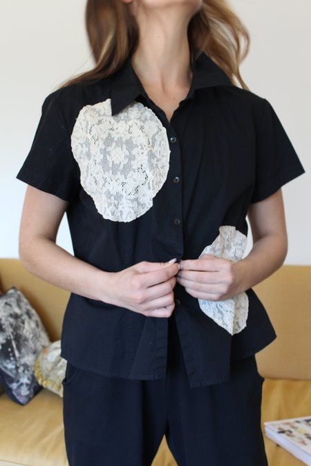 Beklina Reworked Antique Lace Top B