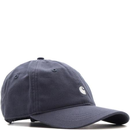CARHARTT WIP MADISON LOGO CAP - STONE BLUE