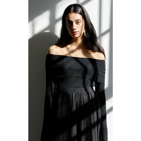 Pari Desai Lola Off Shoulder Bodysuit