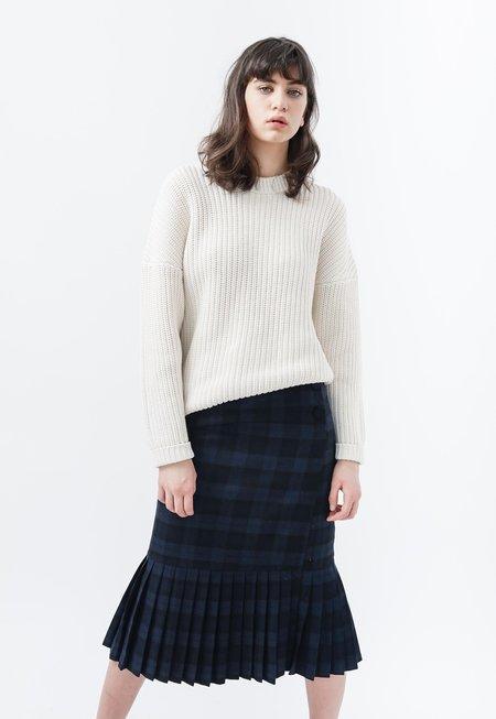 Callahan Shaker Knit Boyfriend Sweater