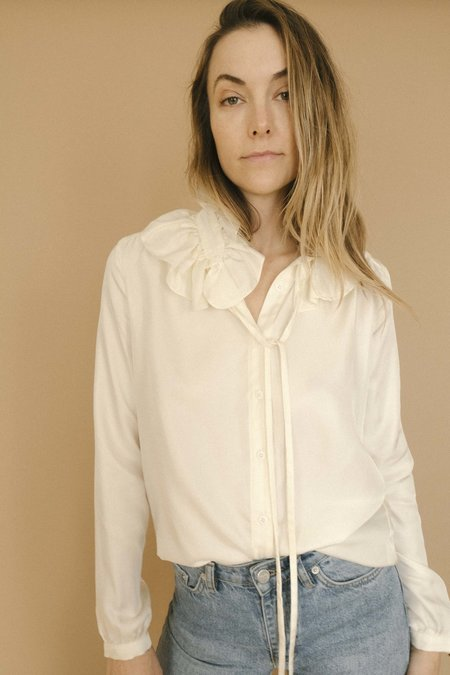 Maria Stanley The Maje Blouse - Bone