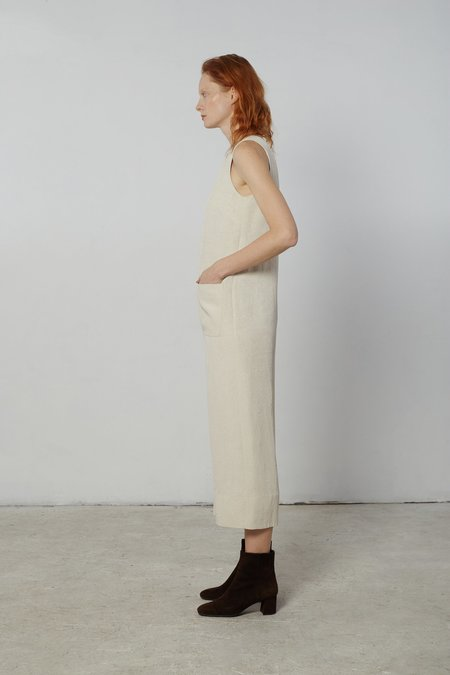 Nomia Cropped Jumpsuit - Matte Crinkle Satin