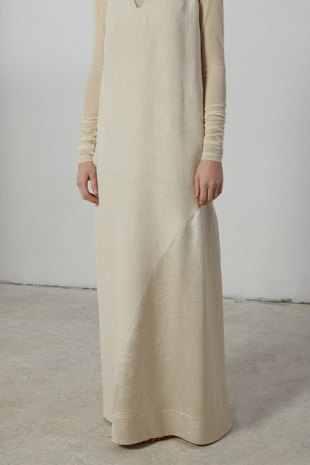Nomia Godet Gown - Sand