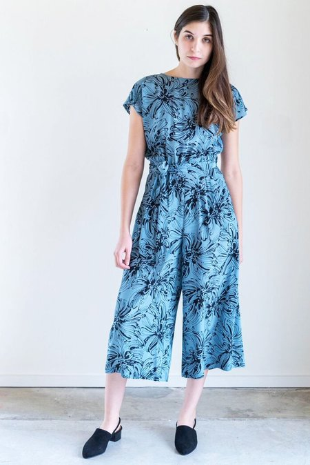 No.6 Winona Jumpsuit in Sky Island Floral