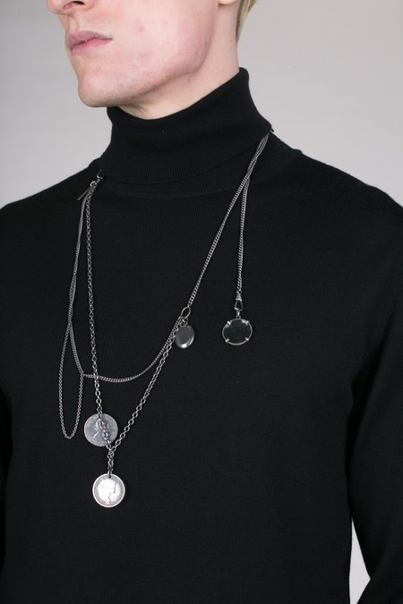Christian Dada Antique Charm Necklace