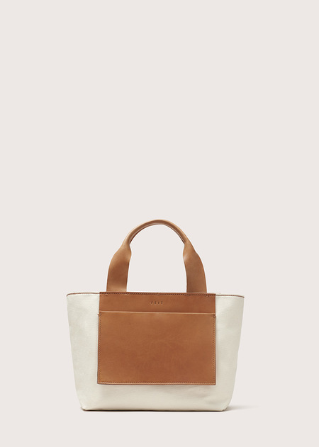 FEIT Small Tote - Natural Canvas