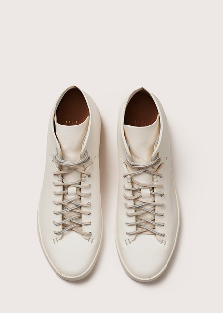 FEIT Hand Sewn High - White