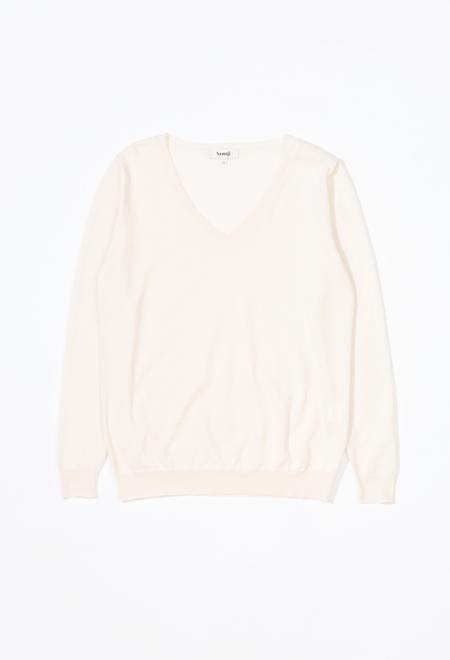 Samuji Wova Sweater - Ecru
