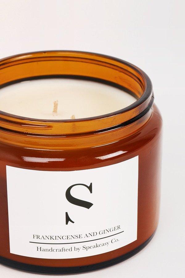 Speakeasy Large Frankincense & Ginger Candle