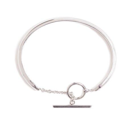 OAMC Silver T-Bar Bracelet