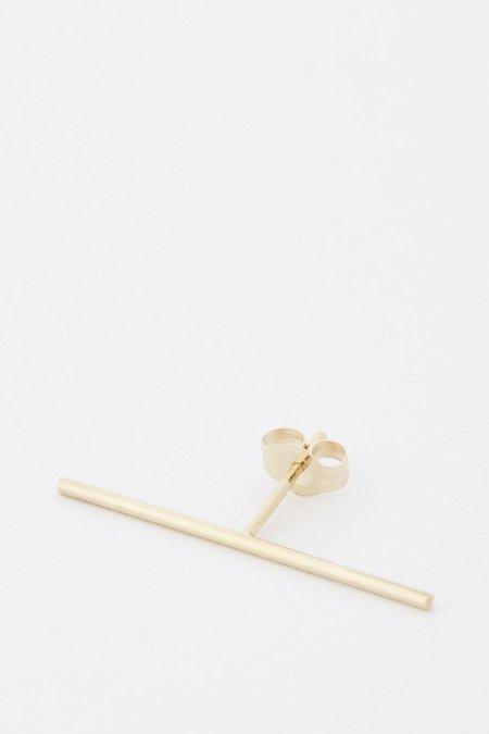 Kathleen Whitaker Stick Stud Earring