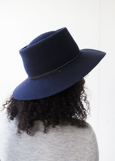 Brookes Boswell Millinery - Reinette in Navy