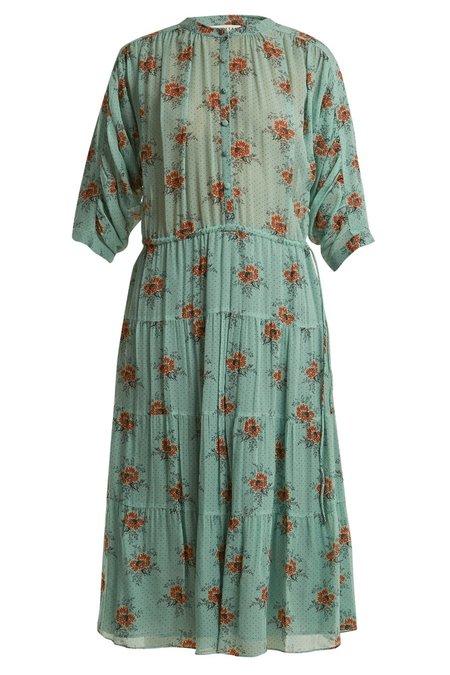 Masscob Rose Print Dress