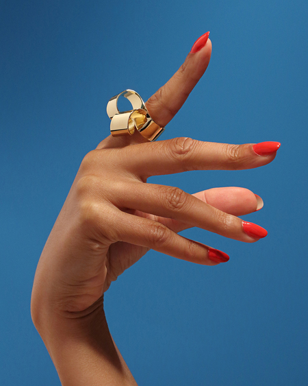 Oblik Atelier Bloom Ring