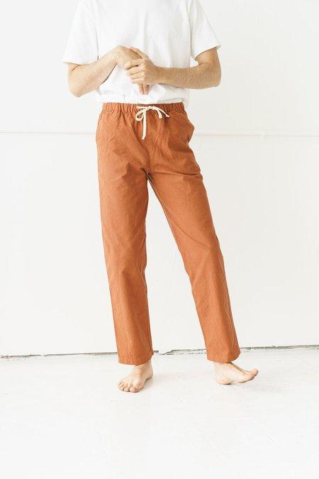 Unisex Ijji Drawstring Pants  - Terracotta