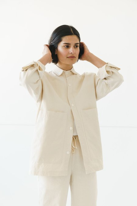 Unisex Ijji Work Jacket - Natural