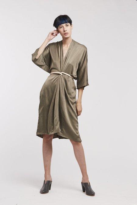 Miranda Bennett O'Keefe Dress Silk Charmeuse in Lanai