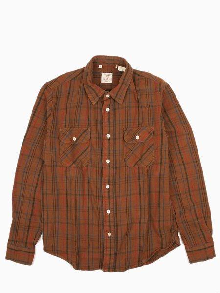 Levi's Vintage Clothing Shorthorn - Coffee Brown Plaid