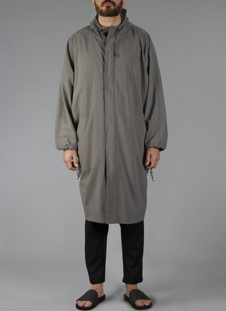 Grei Man of the Mist Rain Coat In Charcoal