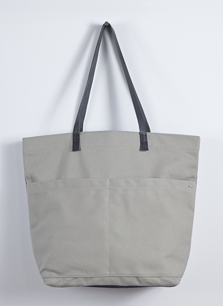 Unisex Grei Heavy Canvas Carry-All Bag In Putty