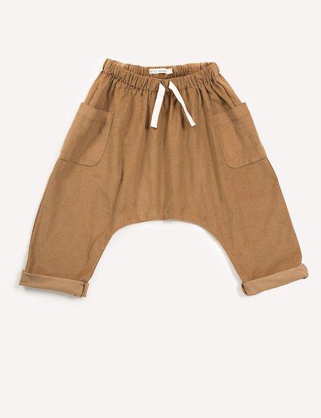 Kids Petits Vilains Clothier Blaise Harem Trousers - Khaki
