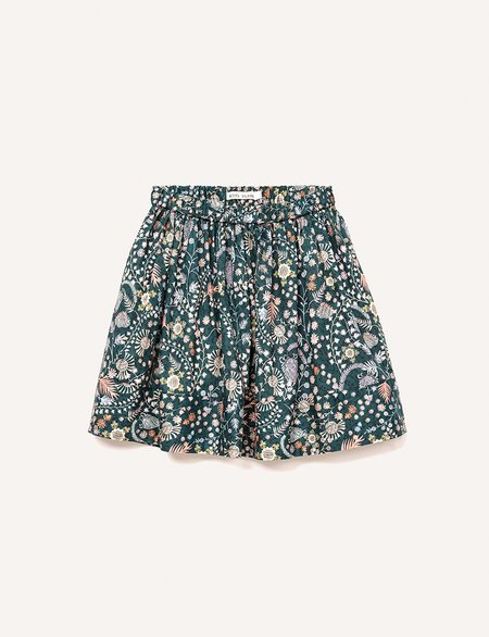 Kids Petits Vilains Clothier Josephine Party Skirt - Alpine Floral