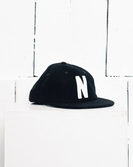 Norse Projects Winter Wool 6 Panel, Black