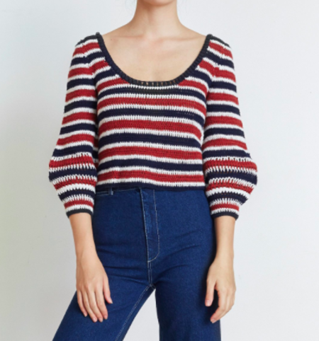 Apiece Apart Sonora Stripe Crochet