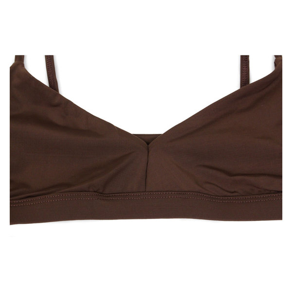 Land of Women Supersoft Classic Bra in Brown