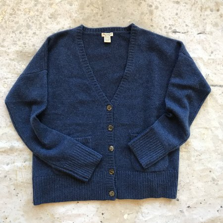 New Scotland Cashmere Cardigan - blue