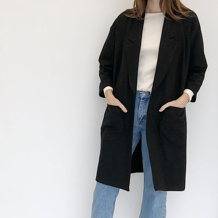 Laurs Kemp Black Augie Coat