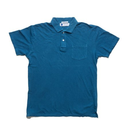 Industry of All Nations Clean Polo - 6 Dips Indigo