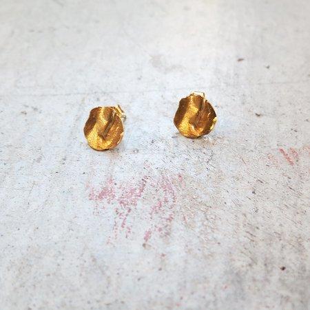 Takara Ra Earrings - Gold
